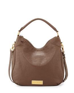 MARC by Marc Jacobs Washed Up Billy Hobo Bag, Brown Earth=