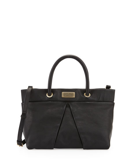 MARChive Leather Tote Bag, Black