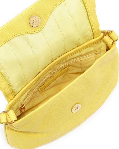 Classic Q Percy Flap Crossbody Bag, Banana Creme