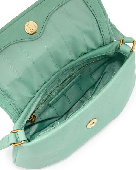 Classic Q Percy Flap Crossbody Bag, Minty