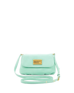 MARC by Marc Jacobs Classic Q Percy Flap Crossbody Bag, Minty