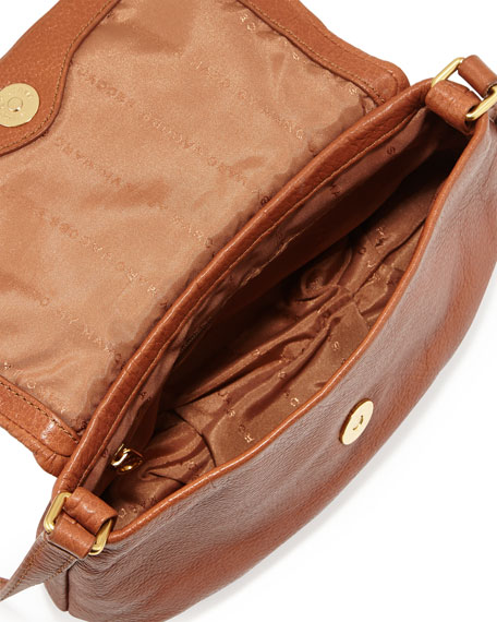 Classic Q Percy Flap Crossbody Bag, Smoked Almond