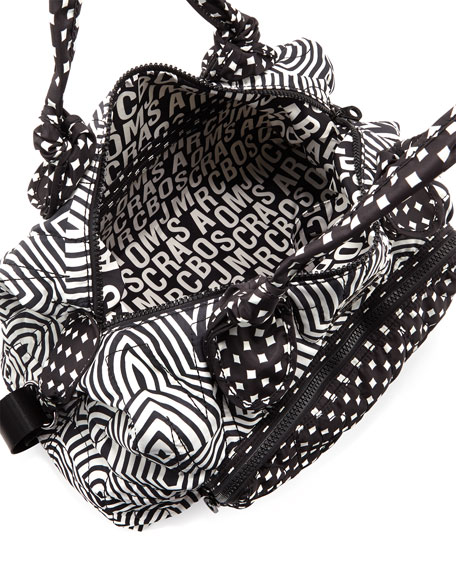 Pretty Nylon Weekender Bag, Black