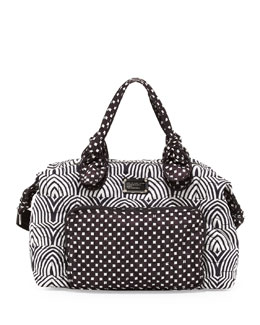 MARC by Marc Jacobs Pretty Nylon Weekender Bag, Black