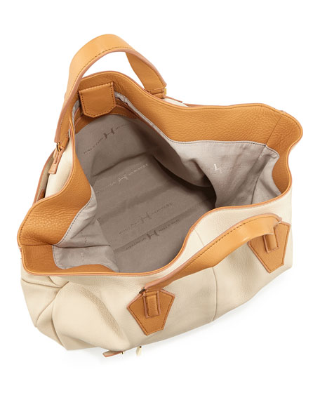 Beverly Convertible Hobo Bag, Camel