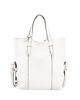 Halston Heritage City Casual Baby Tote Bag, White