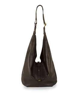 Halston Heritage City Casual Hobo with Pochette, Black