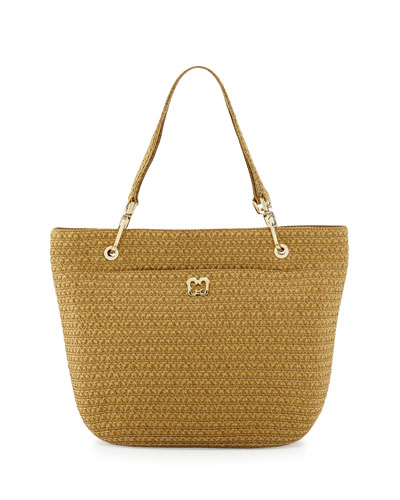 Squishee Clip II Tote Bag, Natural