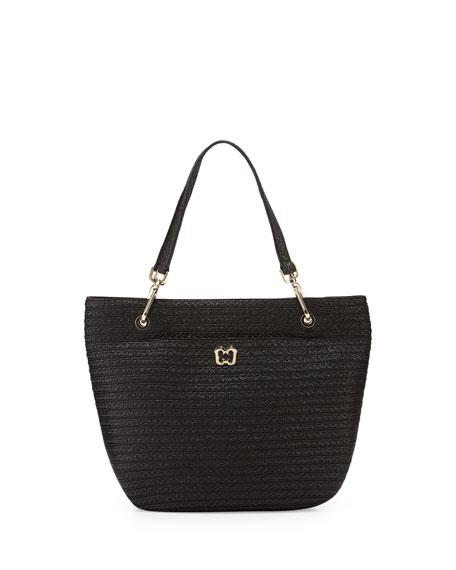 Squishee Clip II Tote Bag, Black