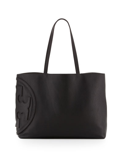 Tory Burch All T East-West Tote Bag, Black