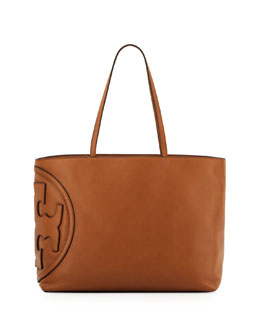 Tory Burch All T East-West Tote Bag, Bark