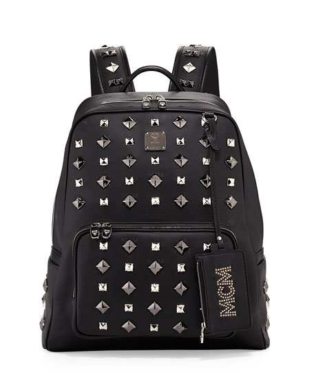 Honshu Tantris Studded Backpack, Black