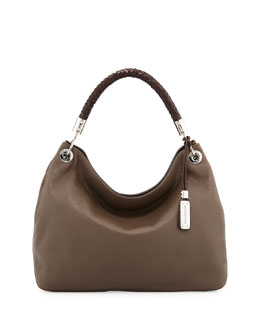 MICHAEL KORS Large Skorpios Shoulder Bag, Elephant