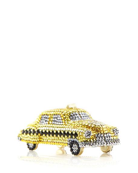 Hey Cabbie! Crystal Taxi Cab Pillbox