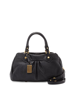 MARC by Marc Jacobs Classic Q Groovee Satchel Bag, Black