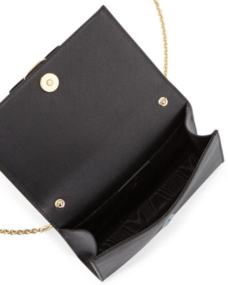 0d433f4eb5 Salvatore Ferragamo Miss Vara Bow Clip Crossbody Bag