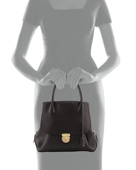 Fiamma Ornament-Lock Tote Bag, Nero Black