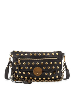 Marc Jacobs Nomad Chain-Strap Hobo Bag, Black