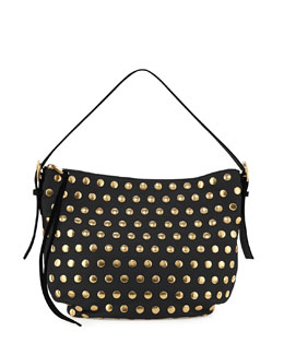 Marc Jacobs Nomad Studded Hobo Bag, Black