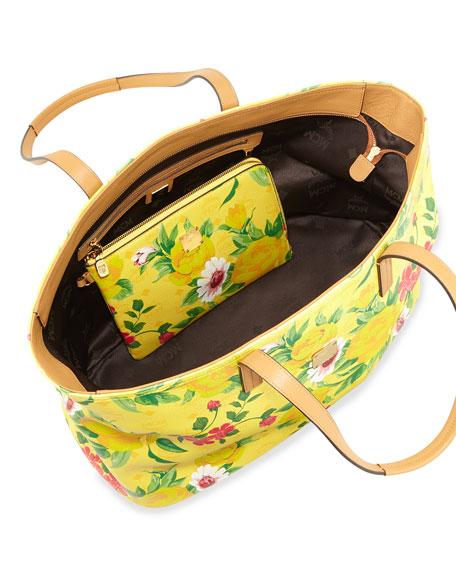 Visetos Flower Tote Bag, Yellow