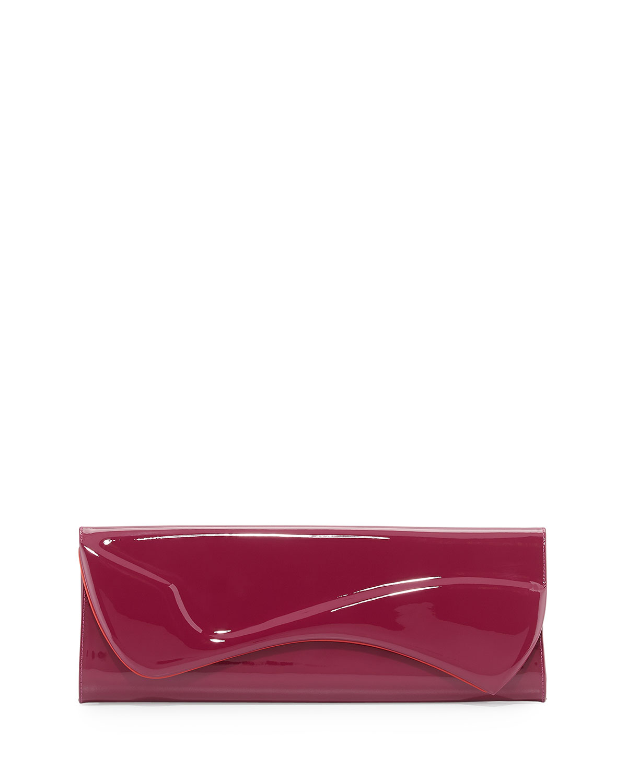 24d99a90648 Pigalle Patent Clutch Bag, Magenta