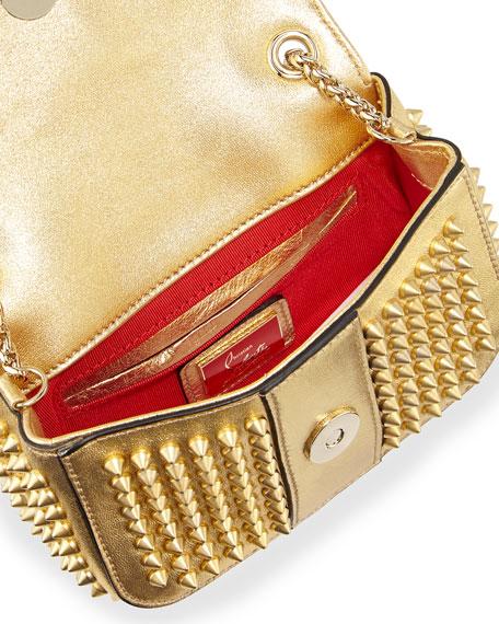 ffedf95c7d6 Sweet Charity Small Spiked Crossbody Bag Golden