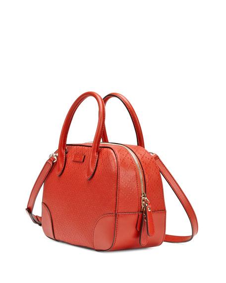 Bright Diamante Small Leather Bag, Orange