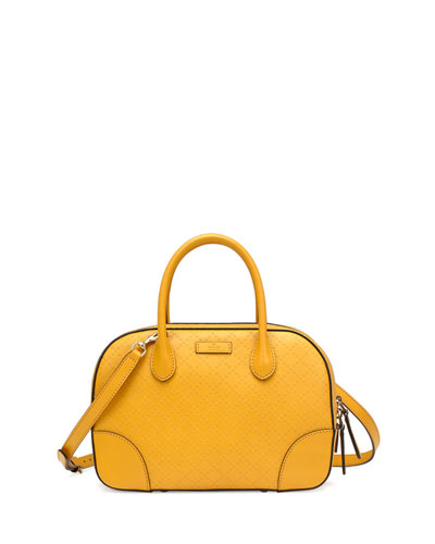 Gucci Bright Diamante Small Leather Bag, Yellow