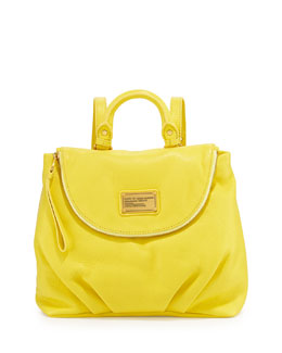 MARC by Marc Jacobs Classic Q Mariska Backpack, Banana Cream