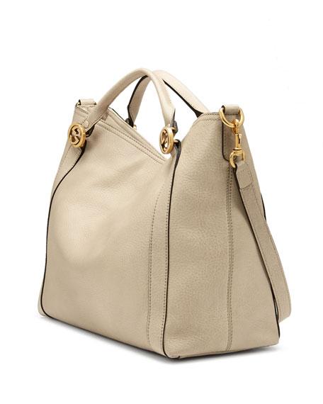 Miss GG Medium Tote Bag, Beige