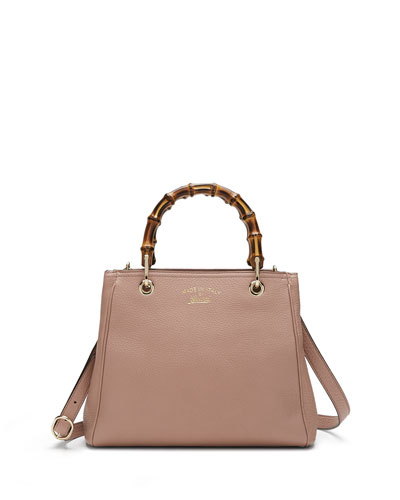 893c0ffb06 Gucci Bamboo Small Shopper Tote Bag, Neutral Where to Buy ...