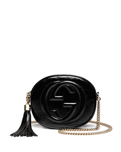 4490e673f274 Gucci Soho Leather Mini Chain Bag Black | Stanford Center for ...