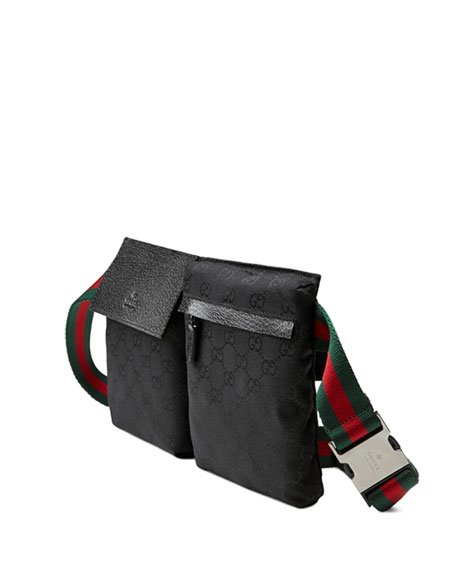 0f6e571ea447 Gucci Original GG Canvas Belt Bag, Black