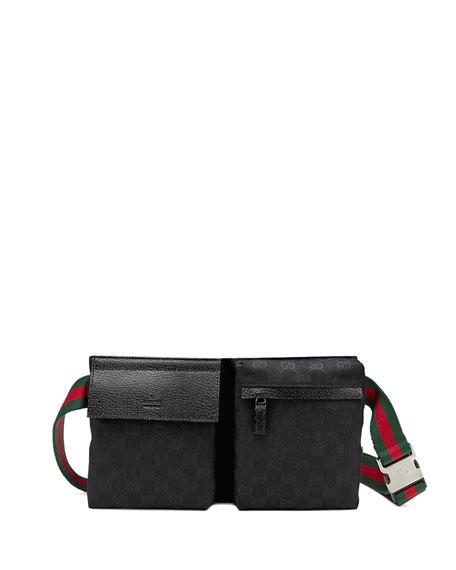 Original GG Canvas Belt Bag, Black