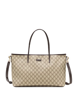 Gucci Joy GG Supreme Canvas Tote Bag, Gray