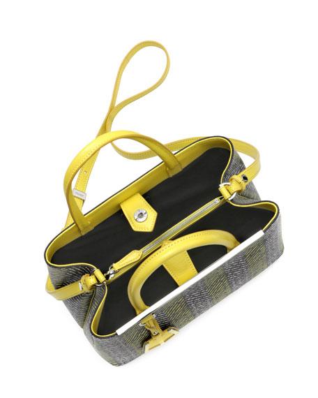 2Jours Printed Petit Tote Bag, Yellow