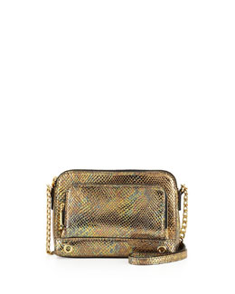 Milly El Dorado Smart Phone Mini Bag, Gold