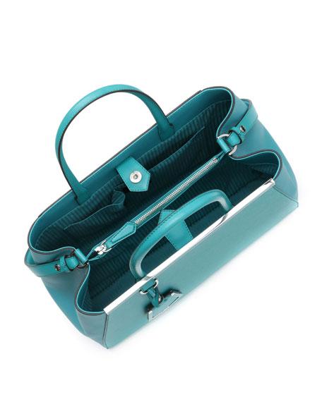 2Jours Petite Satchel Bag, Aqua