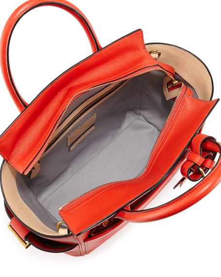 Atlantique Mini Tote Bag, Orange