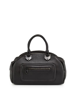 Oryany Belinda East-West Satchel Bag, Black