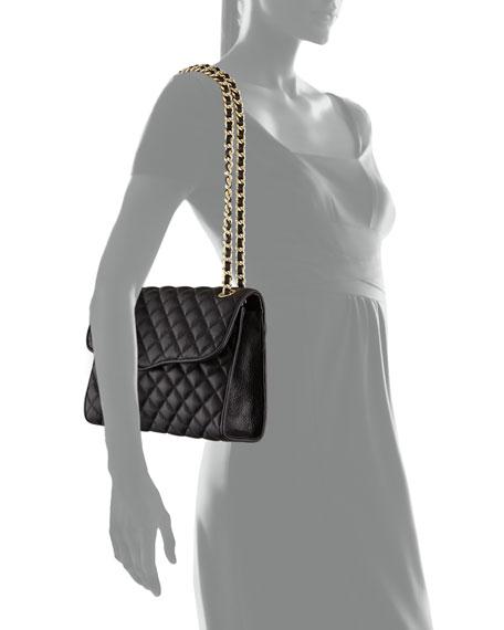 Rebecca Minkoff Quilted Affair Shoulder Bag Black