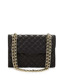 Rebecca Minkoff Quilted Affair Shoulder Bag, Black