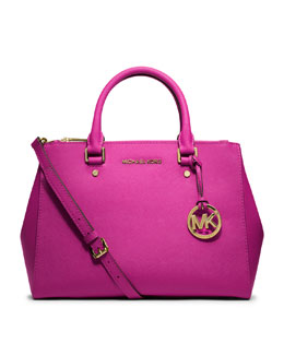 MICHAEL Michael Kors  Medium Sutton Satchel Travel Tote