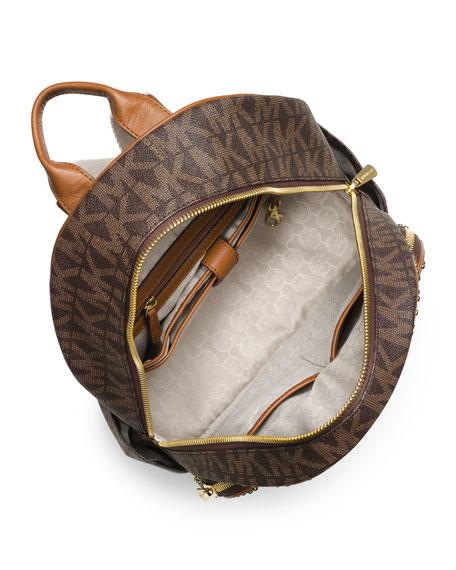 4dad7726c7adaa MICHAEL Michael Kors Large Jet Set Studded Backpack