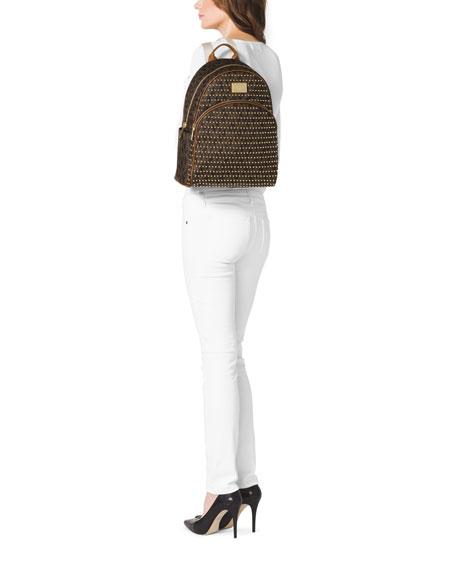 07bb2c67d498 MICHAEL Michael Kors Large Jet Set Studded Backpack
