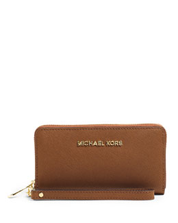 MICHAEL Michael Kors  Large Jet Set Travel Multifunction Phone Case