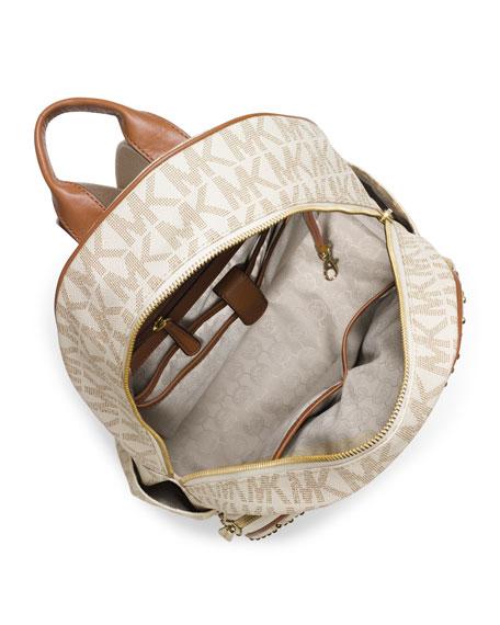 7b9897904064f5 MICHAEL Michael Kors Large Jet Set Studded Backpack