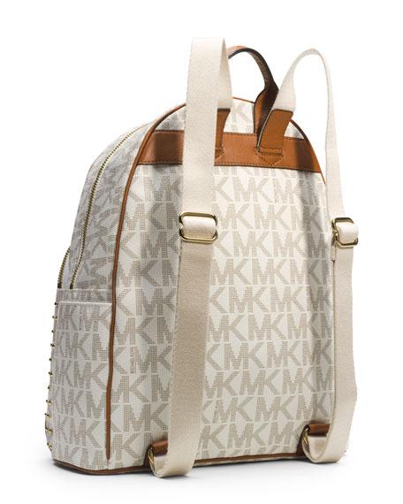 1893e0d4684145 MICHAEL Michael Kors Large Jet Set Studded Backpack