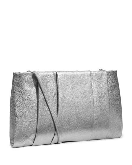 Daria Metallic Clutch
