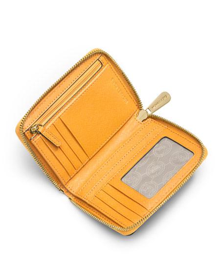 Medium Jet Set Travel Zip-Around Wallet